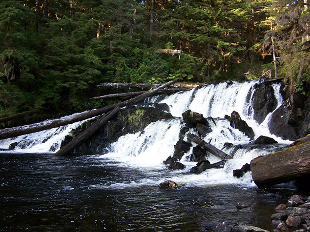 Product picture Alaska Salmon Migration; The Waterfall, Sounds for Relaxation and Meditation MP3